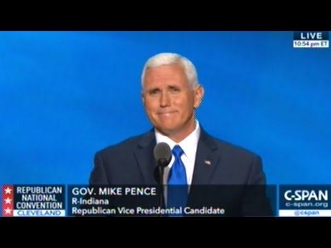 """Mike Pence """"History Teaches Us That Weakness Arouses Evil!"""""""