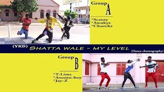 Shatta Wale My Level  Dance Choreography Video By YKD Group A vs B