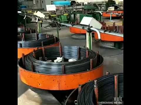Oil tempered and quenched spring steel wire/GONGYI CITY HENGMING METAL PRODUCTS CO.,LTD