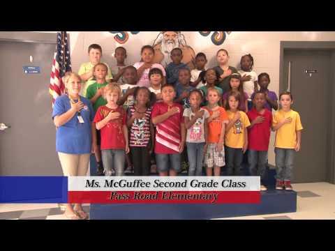Pass Road Elementary School - Ms. McGuffee's Class
