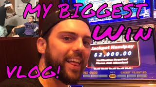 My Biggest Casino Win Day EVER (Gambling Vlog #24)