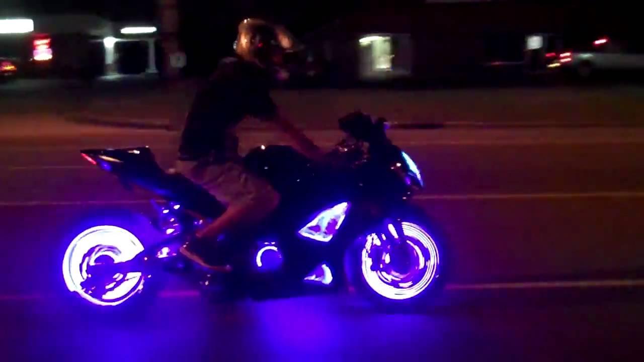 Kawasaki Led Light Kits By All Things Chrome Youtube