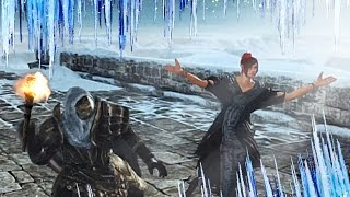 Dark Souls 2 - Icy CO-OP Adventure! (DLC Funny Moments)