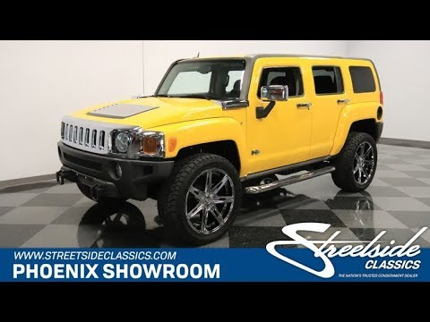 Hummer H3T For Sale >> 2007 Hummer H3 For Sale 0595 Phx