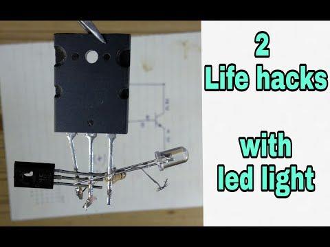 2 superb LED light small project || Flasher and dj lights ||[Rk electronics'korba']