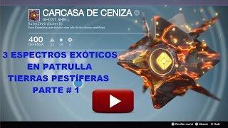 Destiny: 3 Nuevos espectros ocultos en patrulla por Tierras Pestiferas