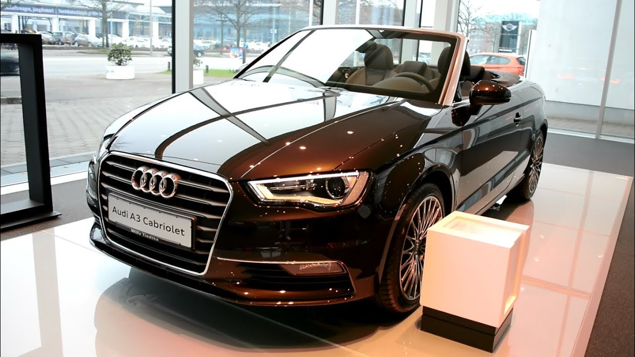 new audi a3 cabriolet sedan 2014 2015 youtube. Black Bedroom Furniture Sets. Home Design Ideas
