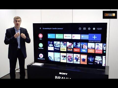 Sony TV OLED 2019 : KD-77AG9, KD-65AG9, KD-55AG9, KD-65AG8 et KD-55AG8