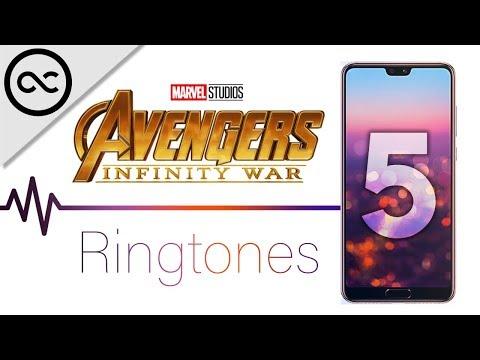 Top 5 AVENGERS INFINITY WAR Ringtones ! ( 4K )
