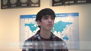 Intern Spotlight: Nick Mesquita at The Museum of Flight