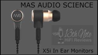 MAS Audio Science X5i