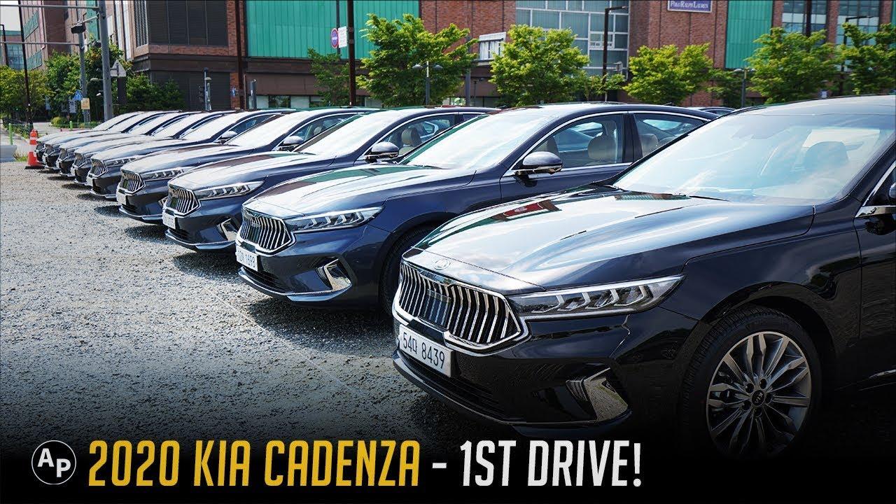 Kia Cadenza Review First Drive Of 2020 Kia Cadenza