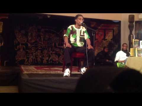 Dr. Afrika at National Black Theater in Harlem 12/8/13