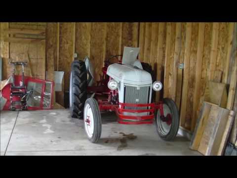Ford 8n tires and sediment bowl repair