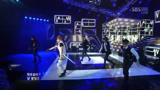 SE7EN [SOMEBODY ELSE] @SBS Inkigayo 인기가요 20120325