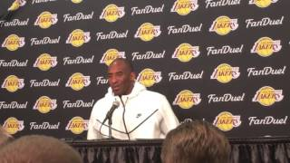 Looking back at Kobe: Kobe Bryant interview