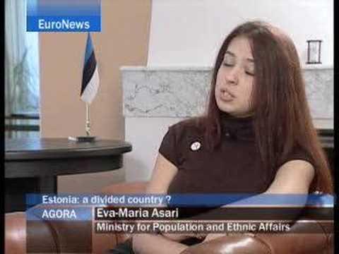 EuroNews - Agora - Estonia, ¿un País Dividido Por La Lengua?