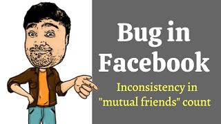 """Bug in Facebook 
