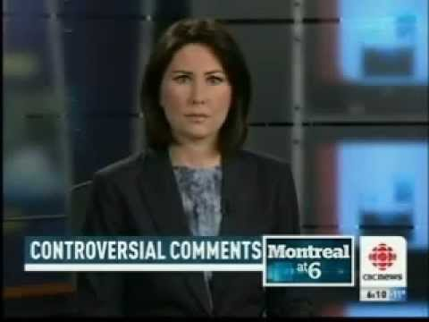 CBC Montreal: Quebec Mayor Under Fire For Anti-Israel Remarks