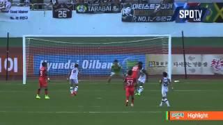 2015 K리그 챌린지 20R 강원FC vs 서울이랜드FC 하이라이트