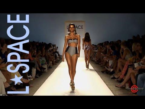 L*SPACE BY MONICA WISE - Mercedes-Benz Fashion Week Swim 2013 Runway bikini models
