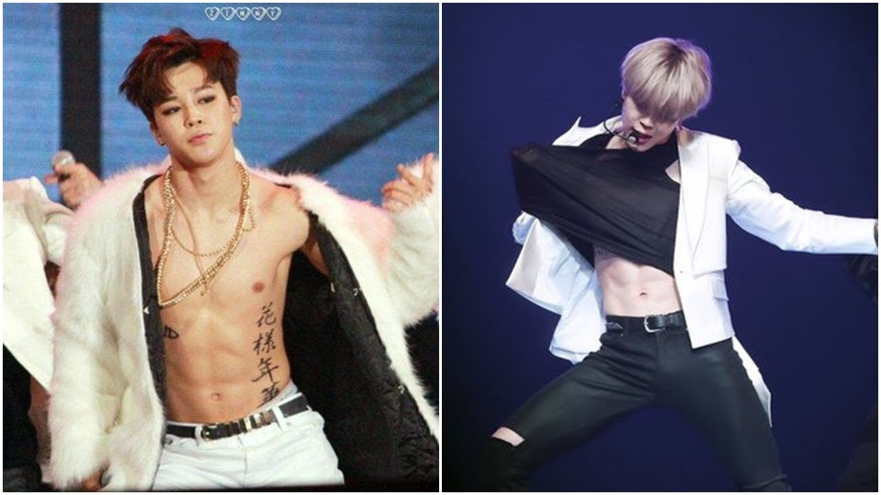 Bts News Jimin Shows Off His Abs At Kbs Song Festival Youtube