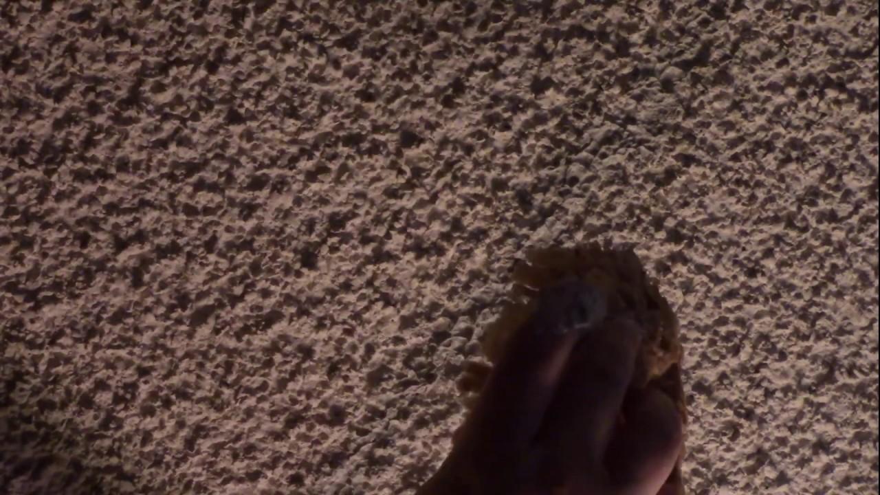 how to fix cracks on pop corn ceiling