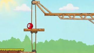 Red Ball 3 HD Level 1-4 Walkthrough iOS/ Android