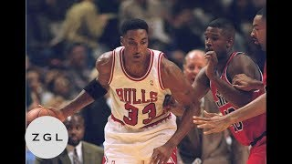 Scottie Pippen Defensive Highlights Compilation