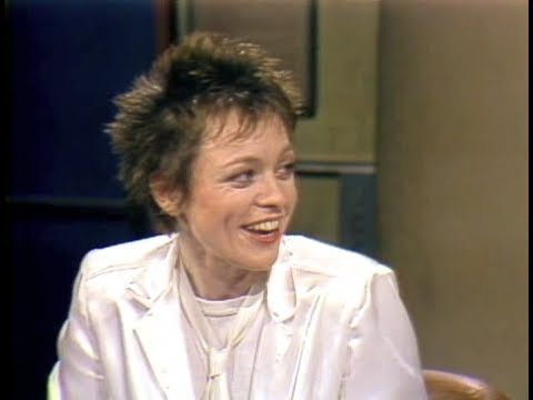 Laurie Anderson on Late Night, May 8, 1984