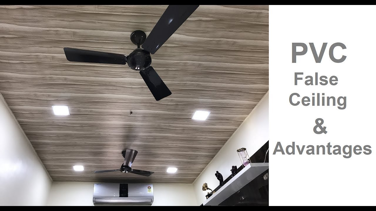 Pvc False Ceiling Design Advantages By Civillane Com