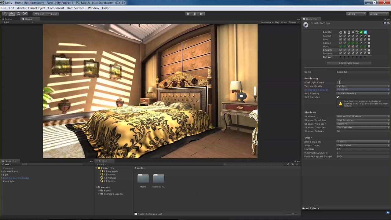 Unity3D Quality Settings - YouTube