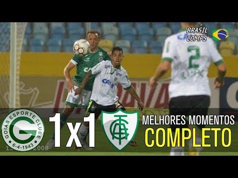 Goiás 1 X 1 América MG | Melhores Momentos | Série B 18/08/2017