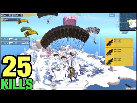 NEW LANDING IN ICE ISLAND | SOLO VS SQUAD | PUBG MOBILE
