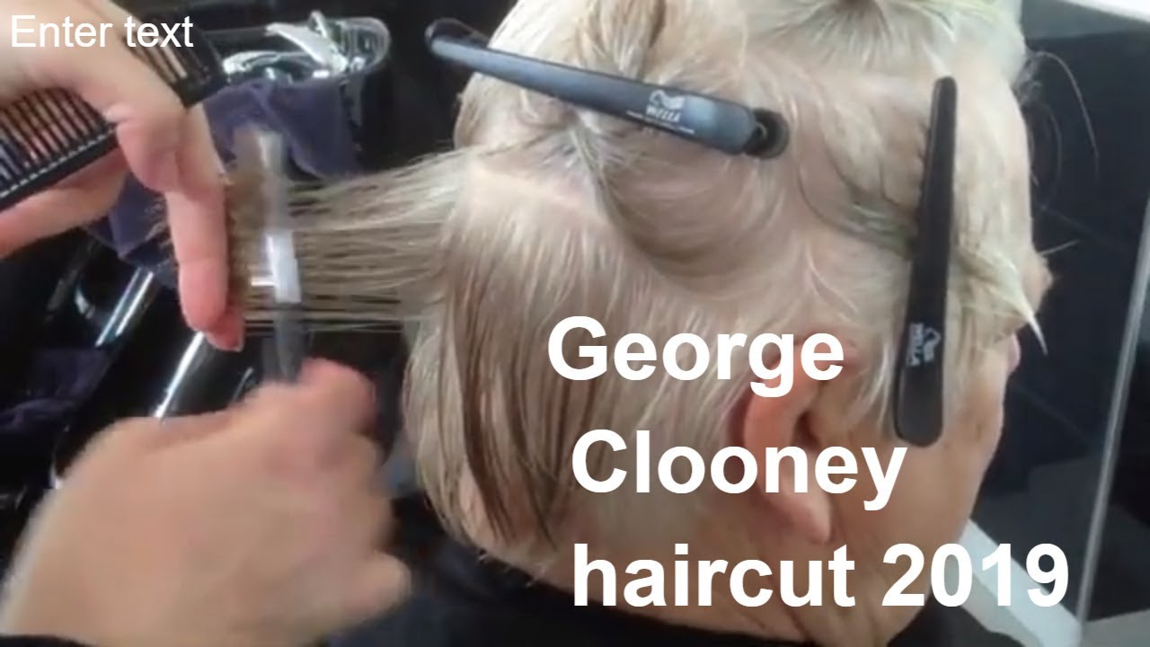 George Clooney Haircut 2019 Mens Haircuts 2019 Men Hairstyle 2019