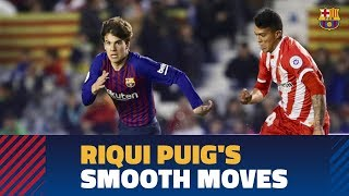 Riqui Puig puts on a show in the Catalan Super Cup