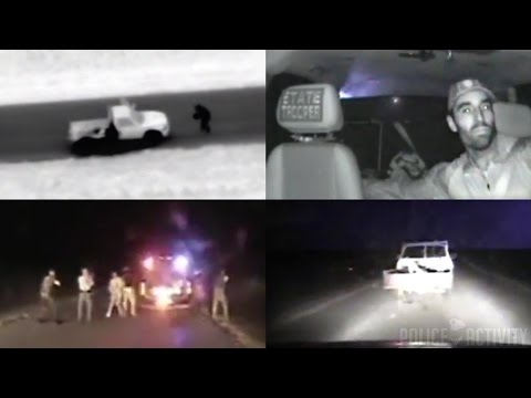 Police Dashcam Footage Shows Michael Vance Fatal Shootout