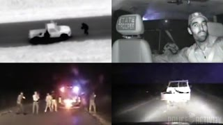 Police Dashcam Footage Shows Michael Vance Fatal Shootout