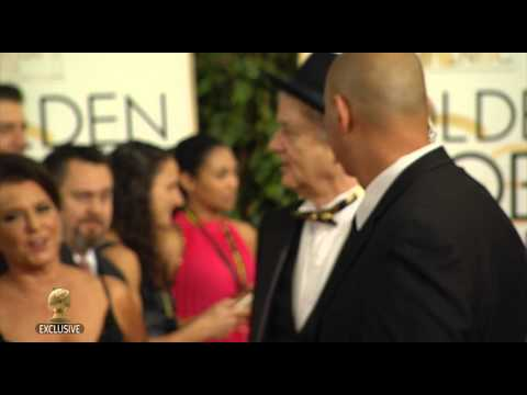 Celebrities Arrive on the Red Carpet at the 72nd Annual Golden Globe Awards