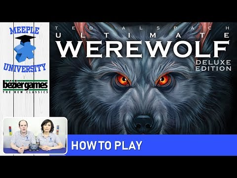 Ultimate Werewolf Deluxe Edition Board Game – How to Play