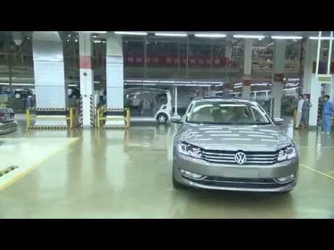 VW Passat Production in China | AutoMotoTV