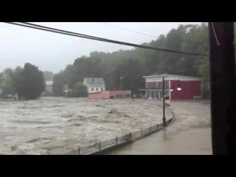 2011 Shelburne Falls Flooding from Hurricane Irene