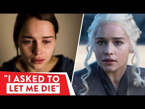 Emilia Clarke survived a stroke and two surgeries during GOT  ⭐OSSA