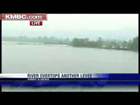 Report: Carroll County Levee Is Overtopping