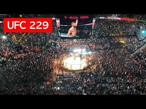 CONOR MCGREGOR UFC 229 WALKOUT