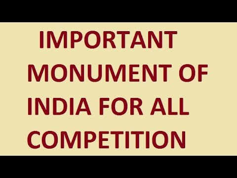IMPORTANT MONUMENT OF INDIA AND WHO BUILT IT || FOR SSC CHSL ; CGL Etc.