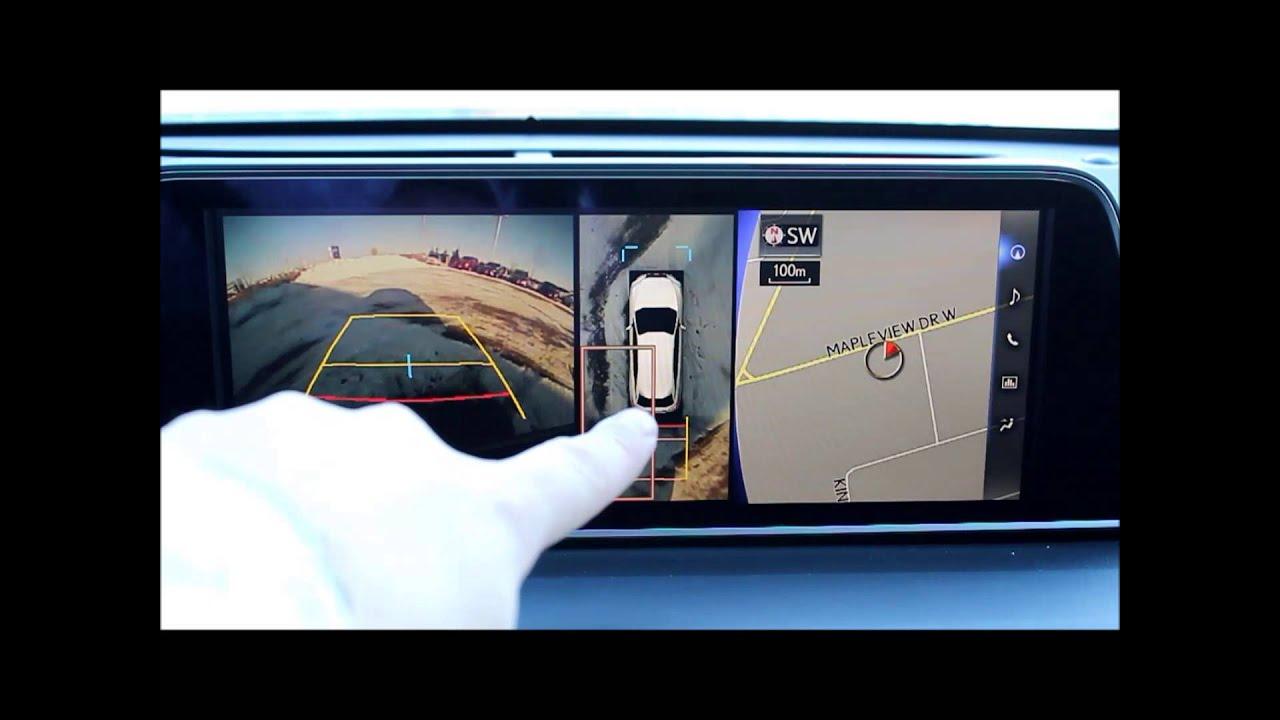 2016 Lexus Rx 350 >> 2016 Lexus RX - 360 Camera - YouTube