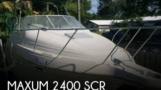 [UNAVAILABLE] Used 1997 Maxum 2400 SCR in Miami, Florida