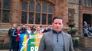 Marriage Equality motion -Derry City and Strabane District Council