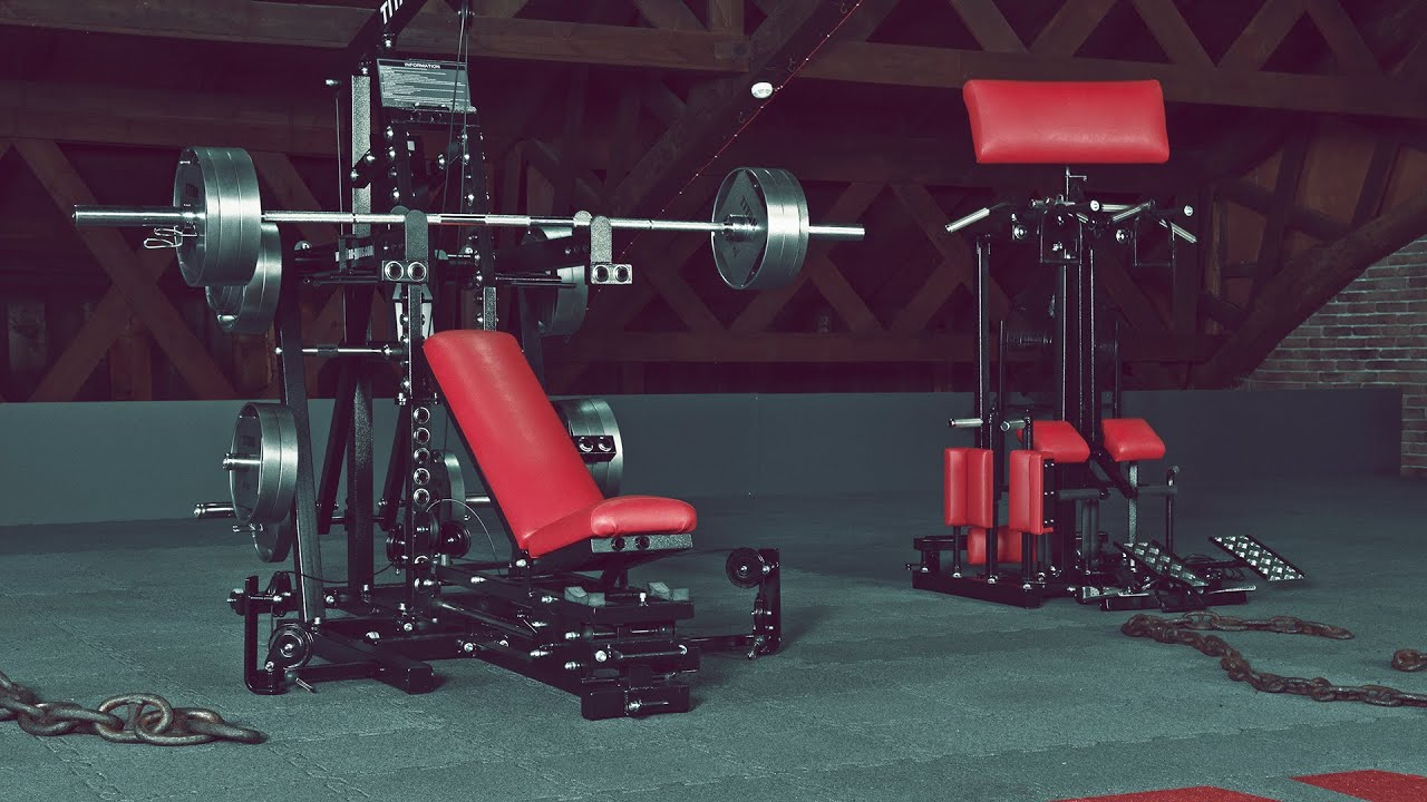 Titan m currently tytax real limitless home gym
